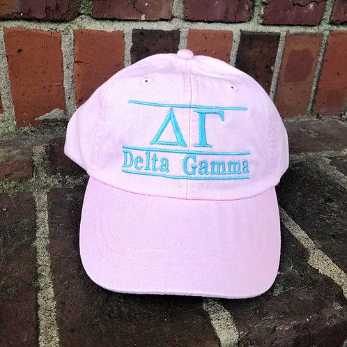 Delta Gamma Bar Cap