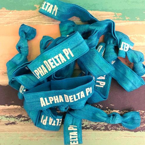 Alpha Delta Pi Hair Tie