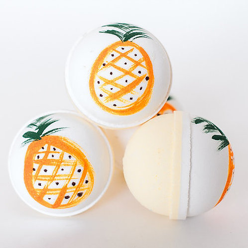 Golden Pineapple Bath Bomb