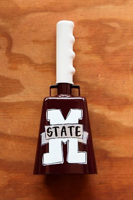 Miss State Logo Cowbell