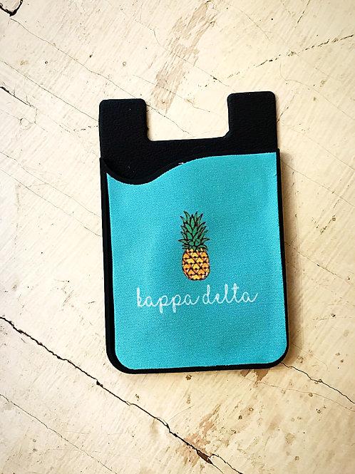 Kappa Delta Pineapple Phone Sleeve