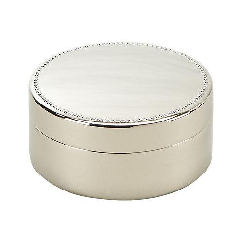 Beaded Round Box