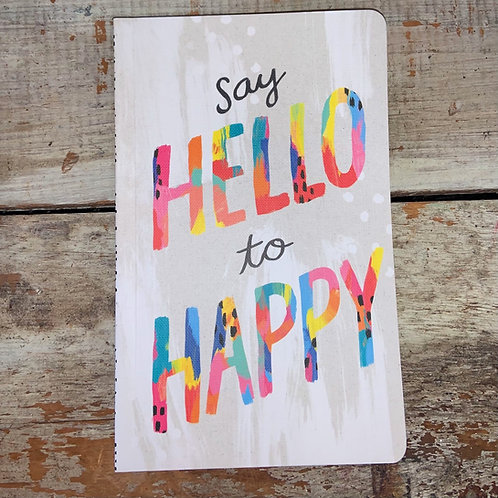 Hello To Happy Journal