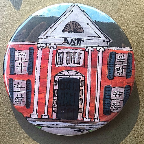 Alpha Delta Pi House Game Day Button