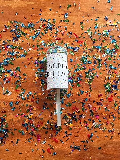 Alpha Delta Pi Confetti Poppers