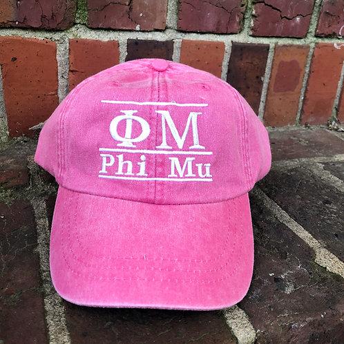 Phi Mu Bar Cap