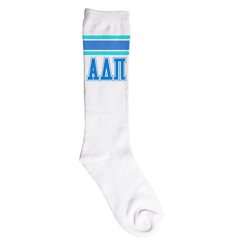 Alpha Delta Pi Knee High Socks