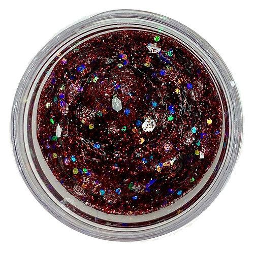 Maroon Galaxie Glitter