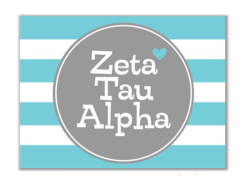 Zeta Tau Alpha Stationary
