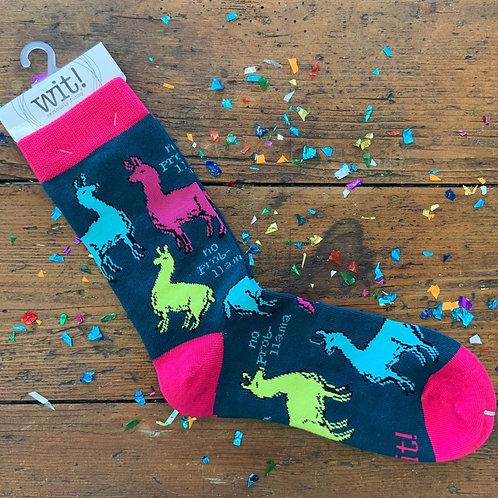 No Prob-Llama Socks