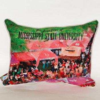 MSU Junction Pillow