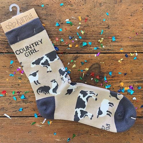 Country Girl Socks