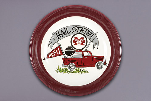MSU Tailgating Truck Plate
