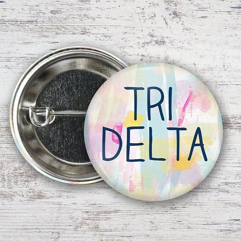 Tri Delta Watercolor Pin