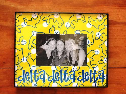 Tri Delta Mascot Frame