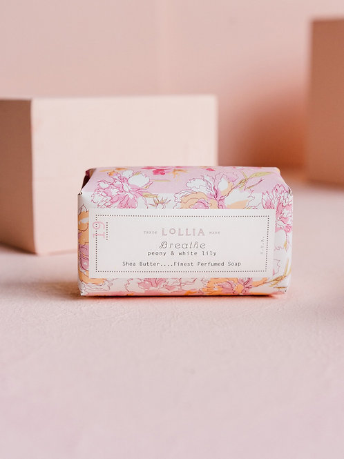 Breathe Shea Butter Bar Soap