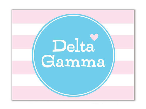 Delta Gamma Stationary