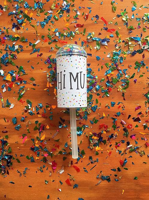 Phi Mu Confetti Poppers