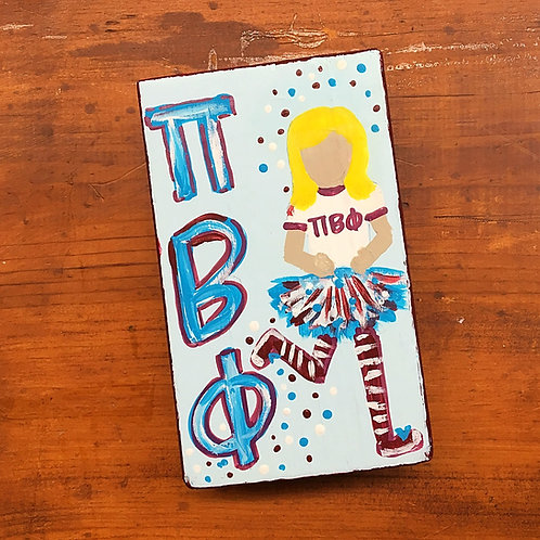 Pi Beta Phi Personalized LuLu Block