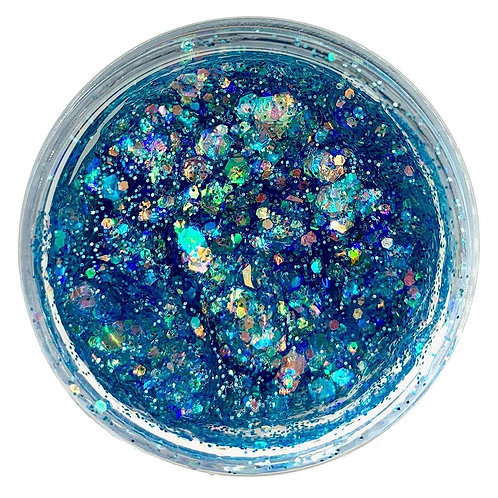 Electric Blue Galaxie Glitter