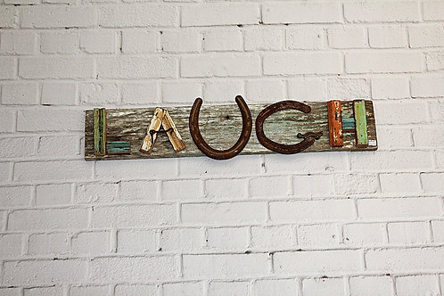 Laugh Wooden Sign
