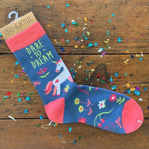 Dare To Dream Socks