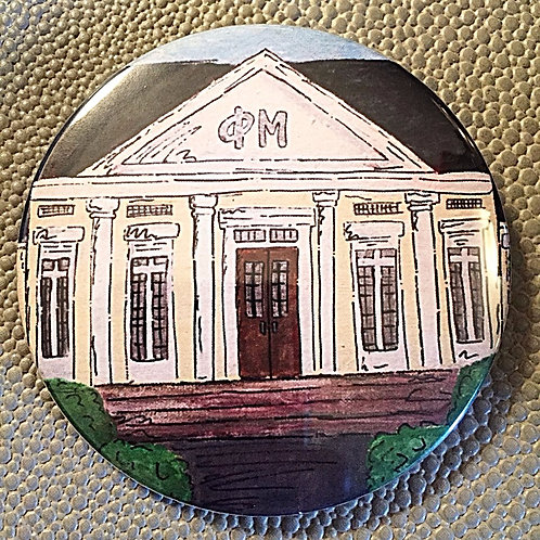 Phi Mu House Game Day Button