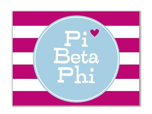 Pi Beta Phi Stationary