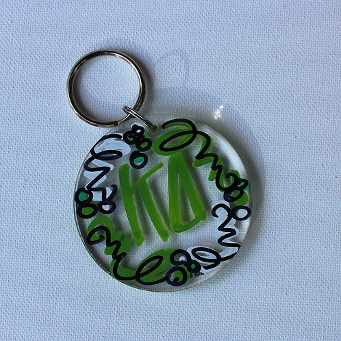 Kappa Delta Acrylic Keychain