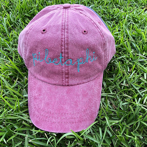 Pi Beta Phi Sorority Script Hat