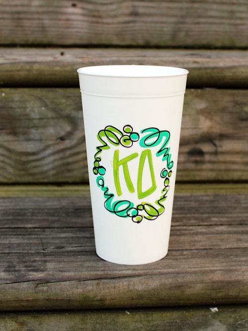 Kappa Delta Confetti Cup