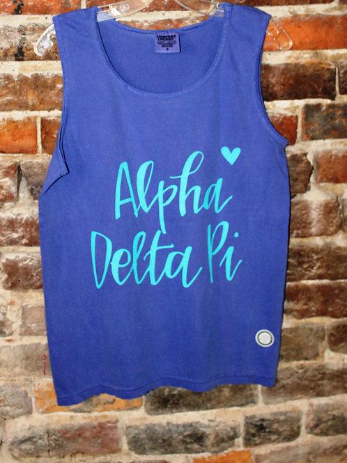 Alpha Delta Pi Heart Tank