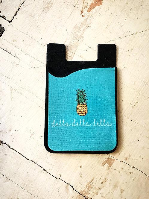 Tri Delta Pineapple Phone Sleeve