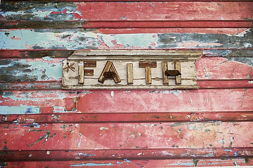 Faith Wooden Sign