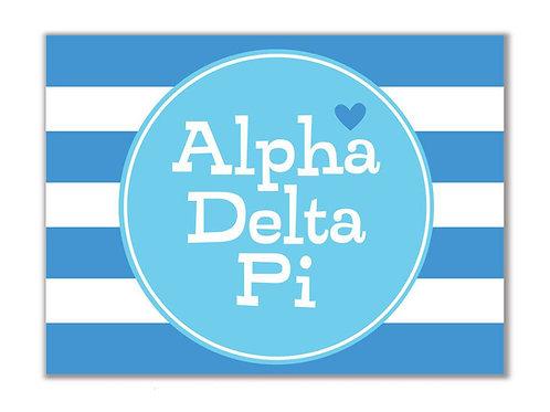 Alpha Delta Pi Stationary