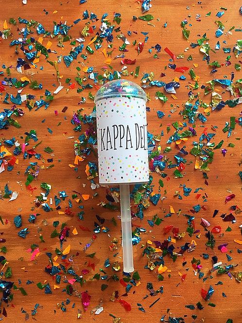 Kappa Delta Confetti Poppers