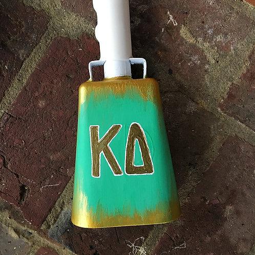 Kappa Delta Gold Cowbell