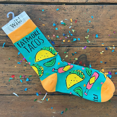 Eat More Tacos Socks