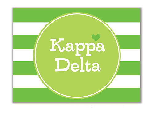 Kappa Delta Stationary