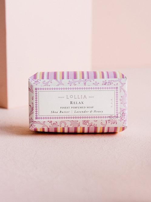 Relax Shea Butter Bar Soap