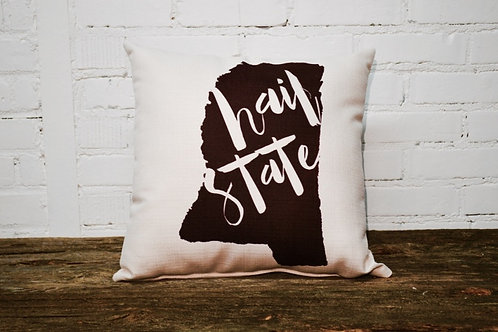 Hail State MS Pillow