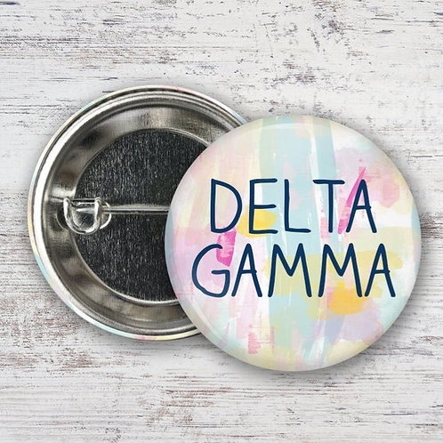 Delta Gamma Watercolor Pin