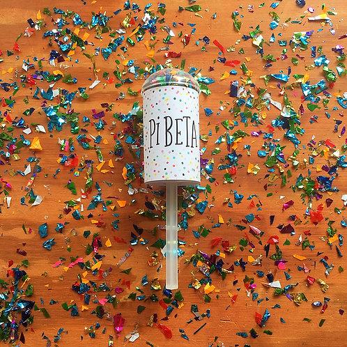 Pi Beta Phi Confetti Poppers
