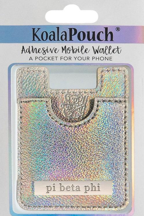 Pi Beta Phi Iridescent Phone Pocket