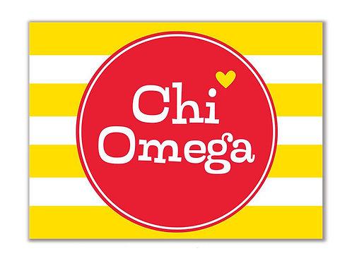 Chi Omega Stationary