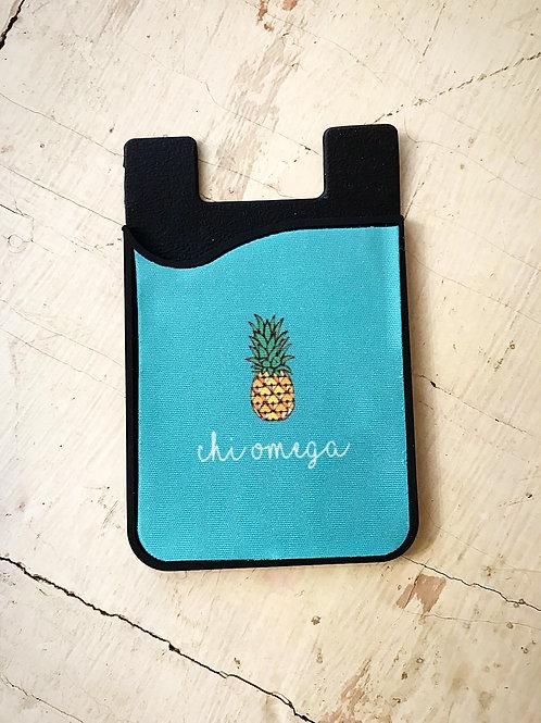 Chi Omega Pineapple Phone Sleeve