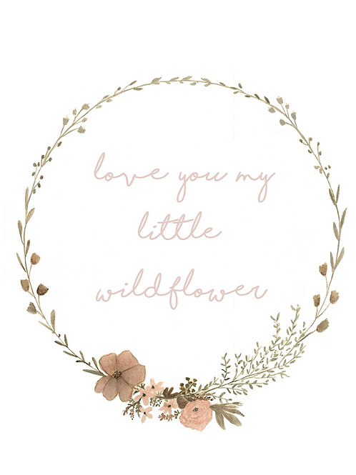 Little Wildflower Wreath