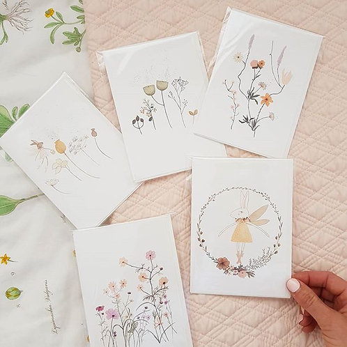Little Wildflower Greeting Card pack