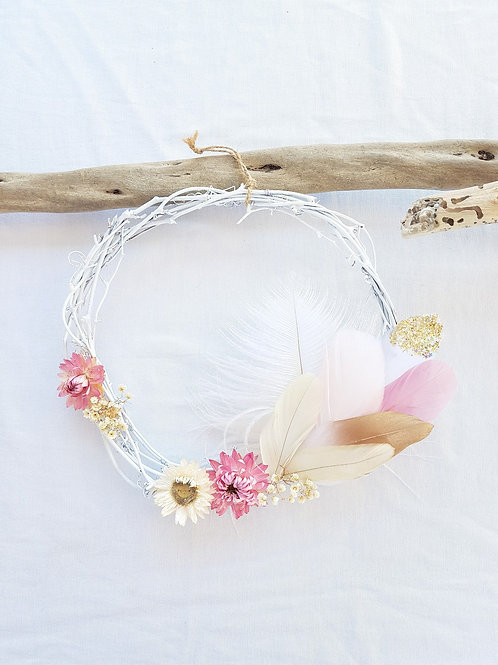 Wildflower Fairy Wreath Snowflake