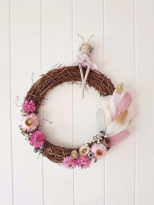 Deluxe Wildflower Fairy Wreath
